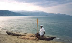 Lake Malawi at Usisya, 1995 - a