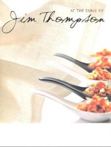 Cookbook Cover - Jim Thompson